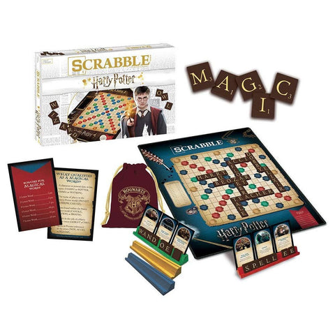 Scrabble World of Harry Potter Board Game