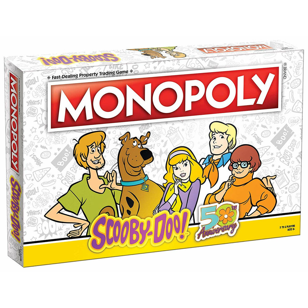 Monopoly Scooby-Doo! 50th Anniversary Collector's Edition Board Game