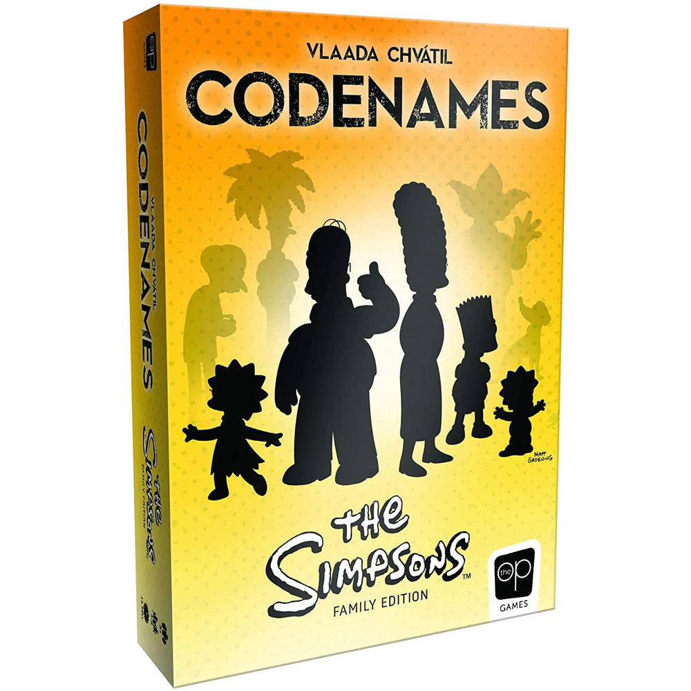 USAopoly The Simpsons Family Edition Codenames Card Game