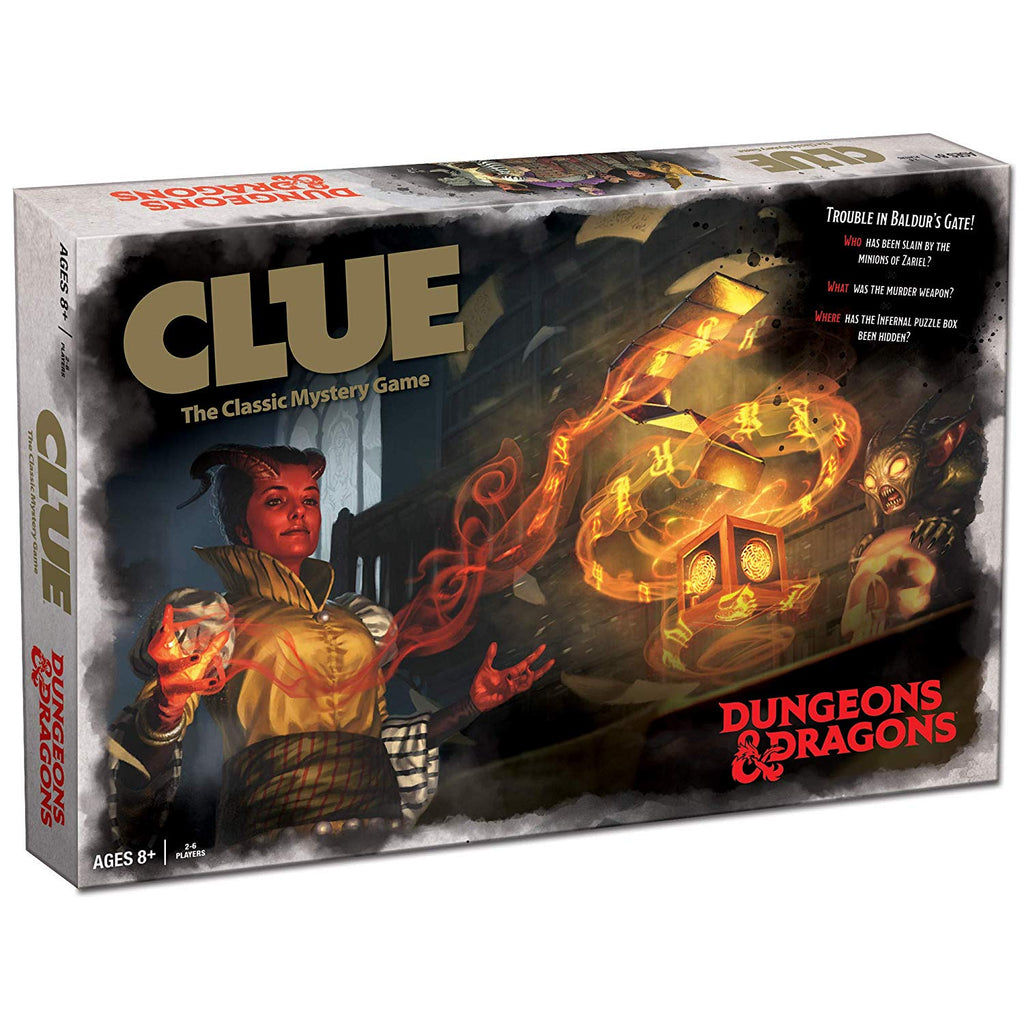 Clue Dungeons & Dragons D&D Edition 2019 Board Game