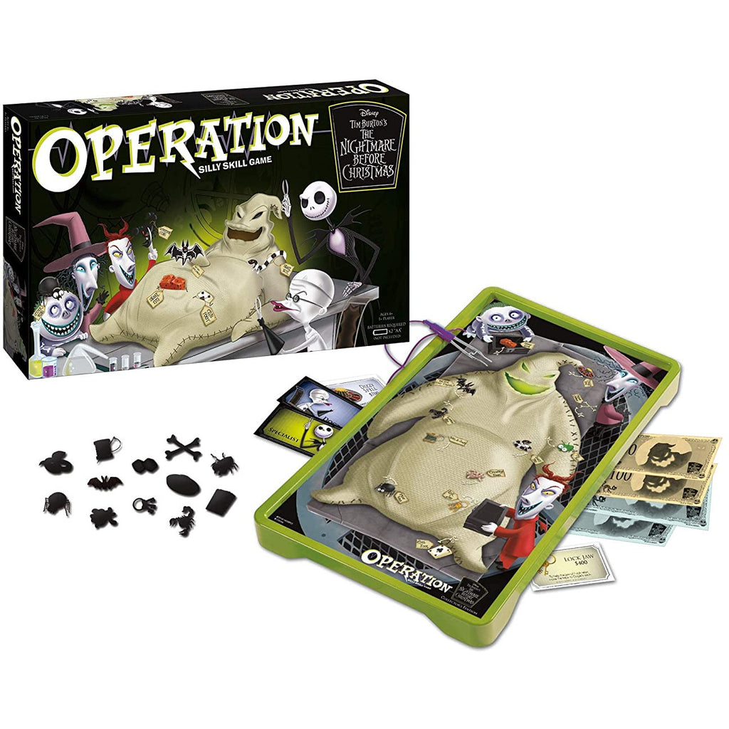Operation Disney The Nightmare Before Christmas TNBC Board Game