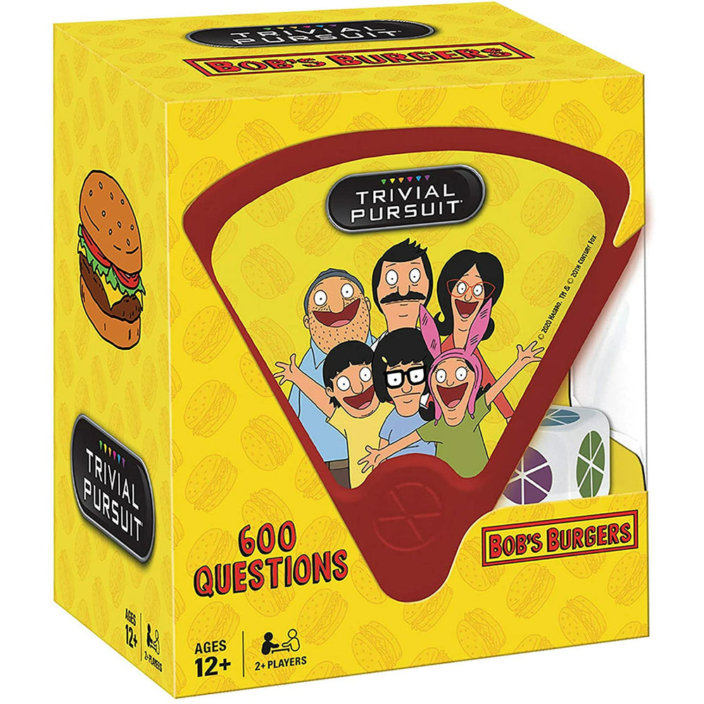 Trivial Pursuit Bob's Burgers Quickplay Edition Trivia Game
