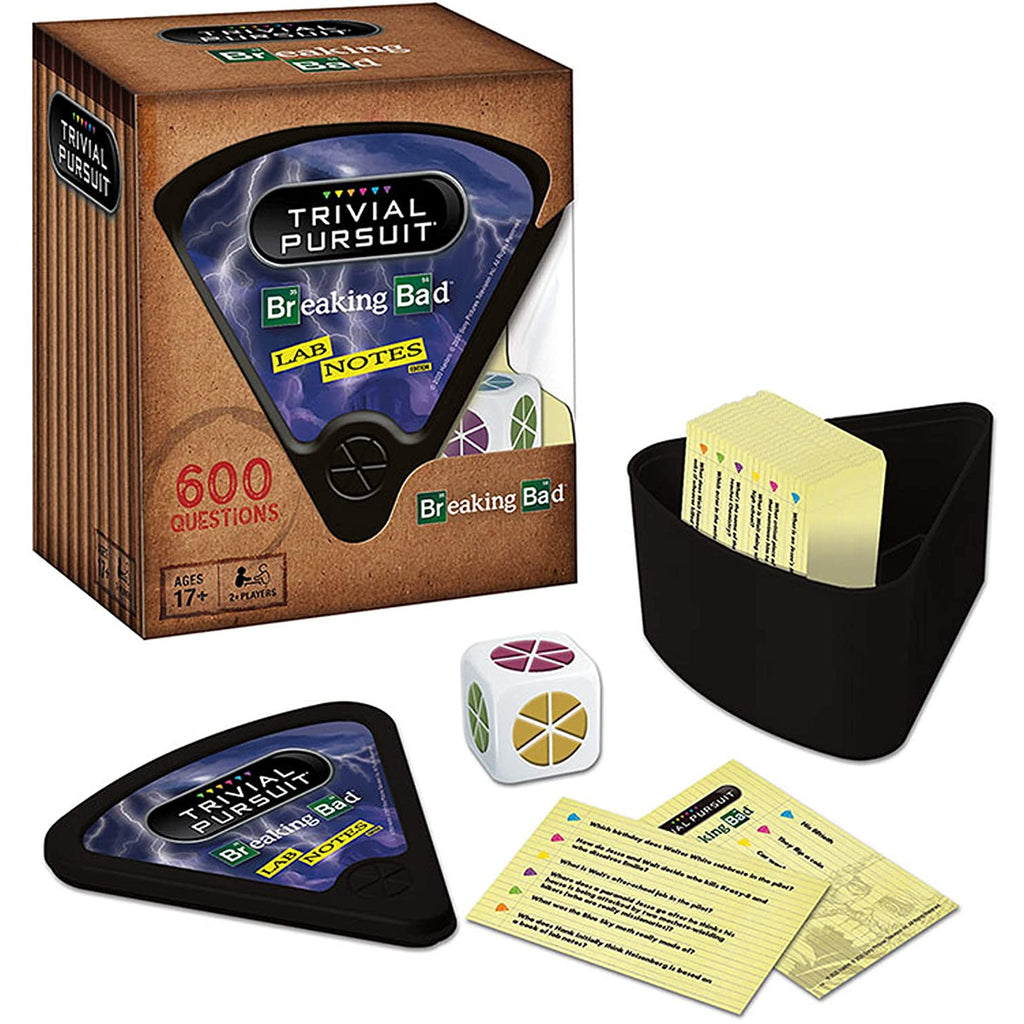 USAopoly Breaking Bad Quickplay Edition Trivial Pursuit Board Game