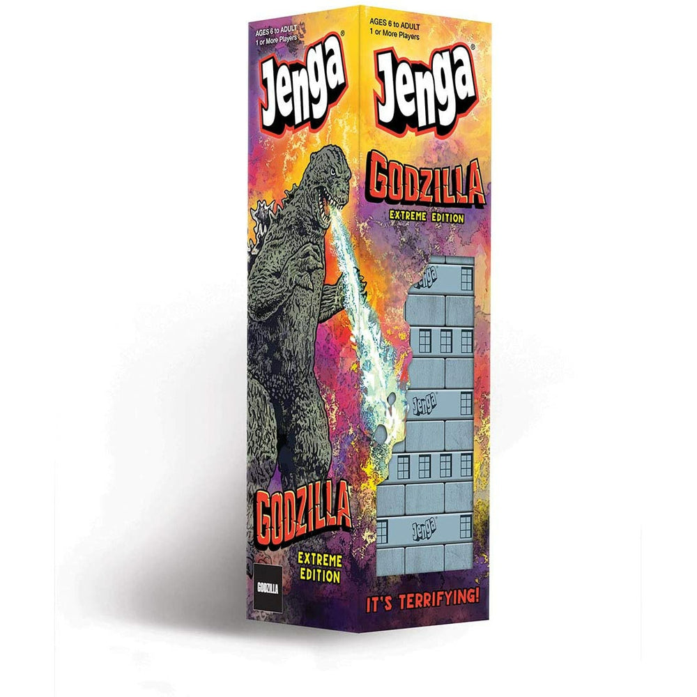 Jenga Godzilla Extreme Edition Party Game