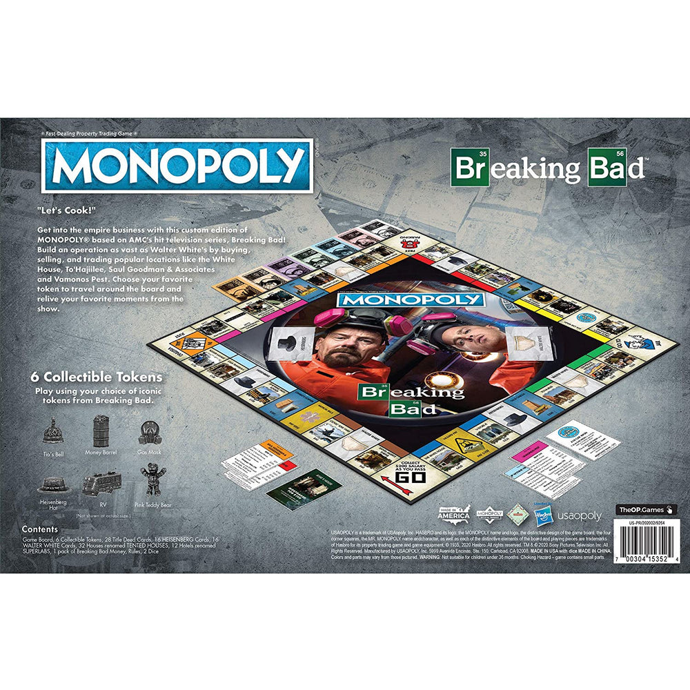 Monopoly Breaking Bad Collector's Edition Board Game