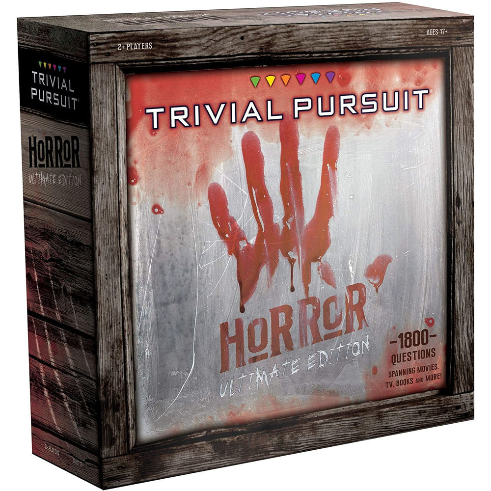 Trivial Pursuit Horror Ultimate Edition Trivia Board Game