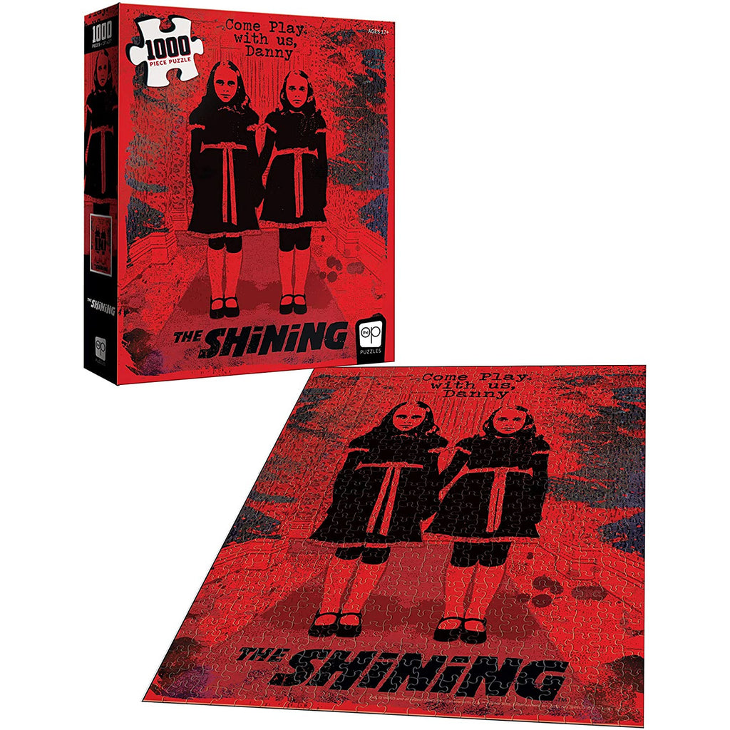 "The Shining Come Play With Us 1000 Piece 19""x27"" Jigsaw Puzzle"