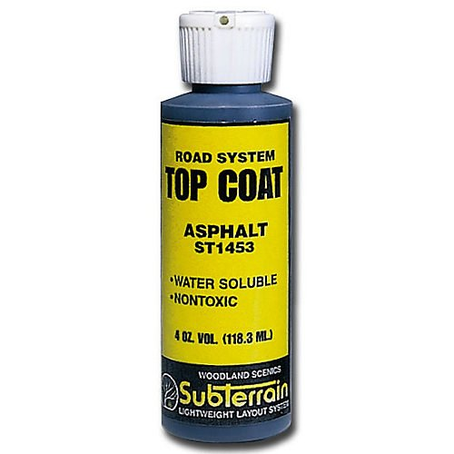 Woodland Scenics Road System ST1453 Top Coat Asphalt Paving for Diorama 4oz