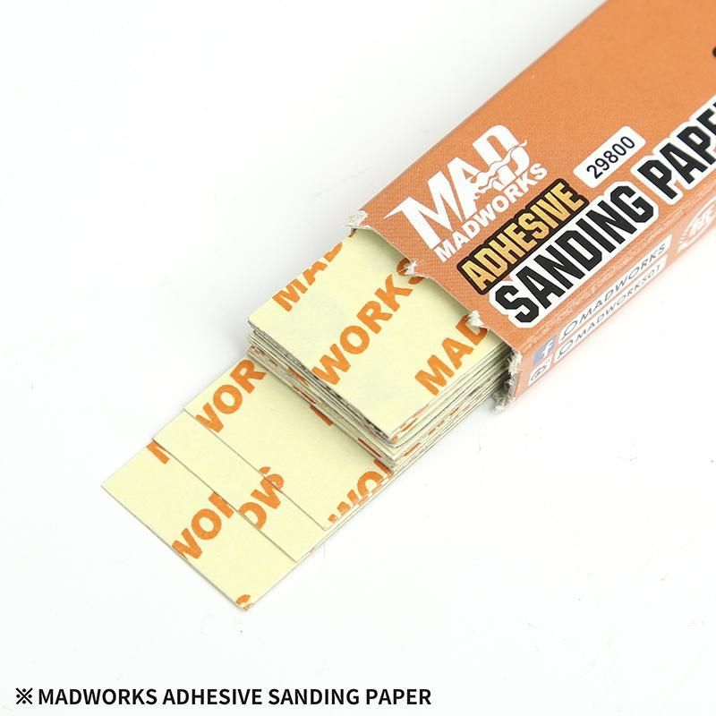 Madworks 21000 Self Adhesive Sandpaper #1000 1000 Grit 2cm x 9cm 20pc