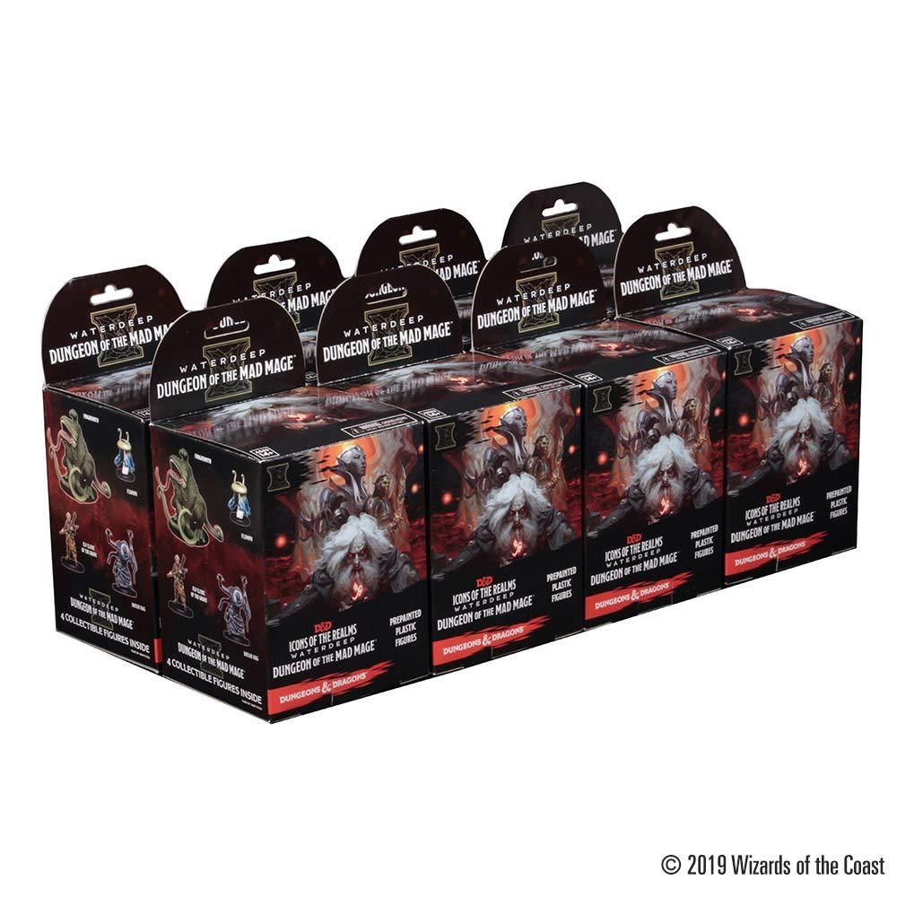 Dungeons & Dragons: Icons of the Realms: Waterdeep: Dungeon of The Mad Mage Booster Brick (8 Boosters)