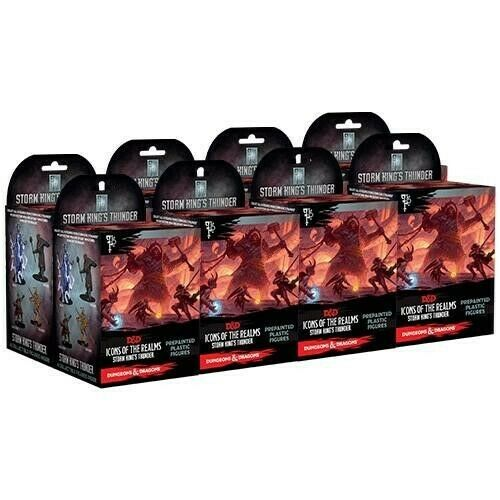 Dungeons & Dragons: Icons of the Realms: Storm King's Thunder Booster Brick (8 Boosters)