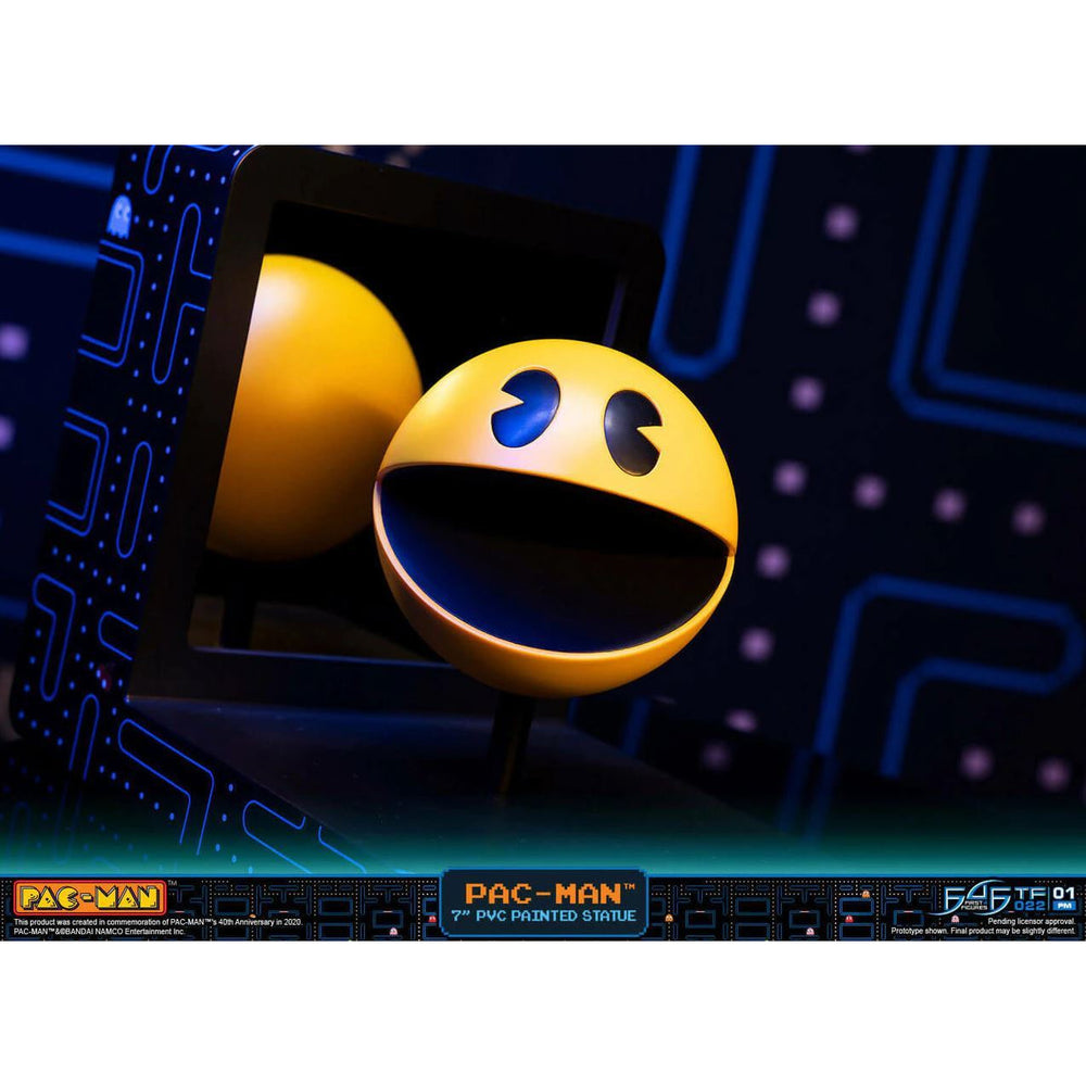 (PRE-ORDER: November 2021) First 4 Figures Pac-Man PVC Standard Edition Statue