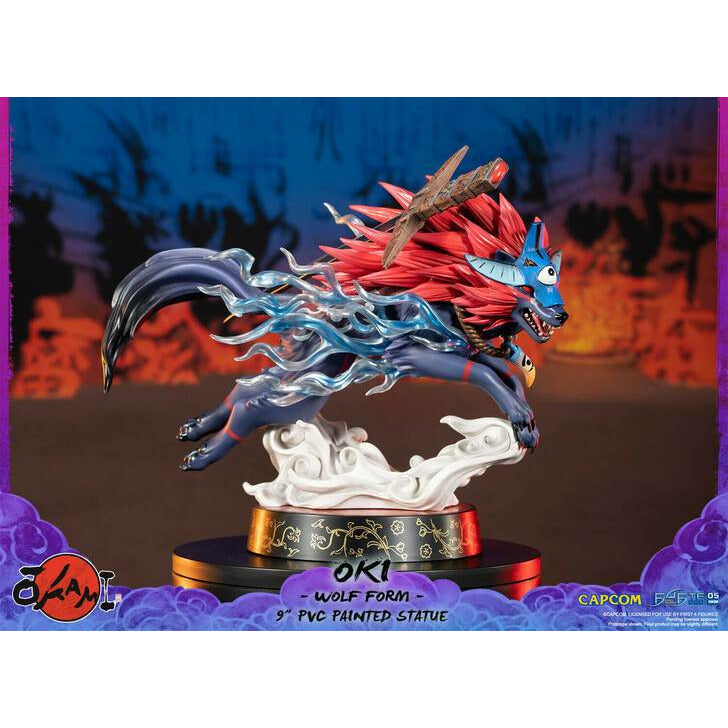 (PRE-ORDER: November 2021) First 4 FIgures Okami Oki (Wolf Form) SE Figure Statue