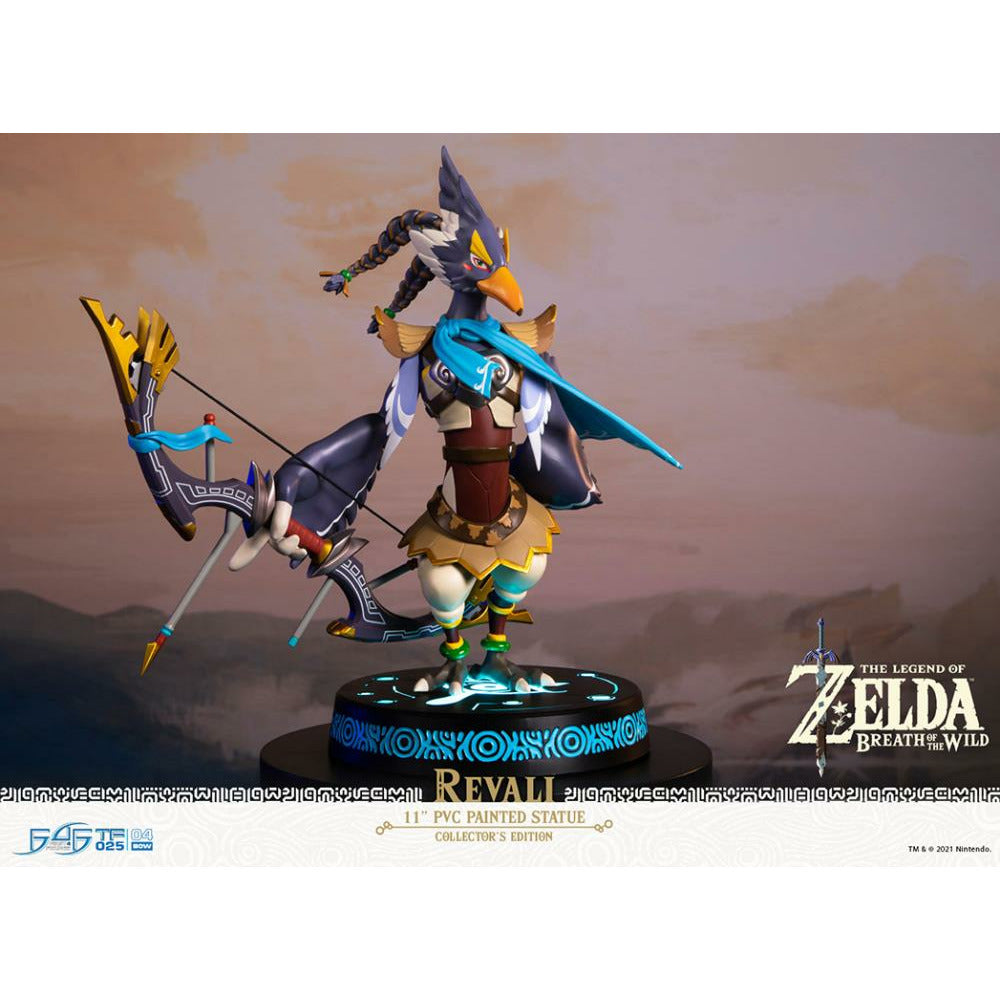 "(PRE-ORDER October 2021) First 4 Figures F4F The Legend of Zelda Breath of the Wild Revali Collector's Edition 11"" PVC Statue"