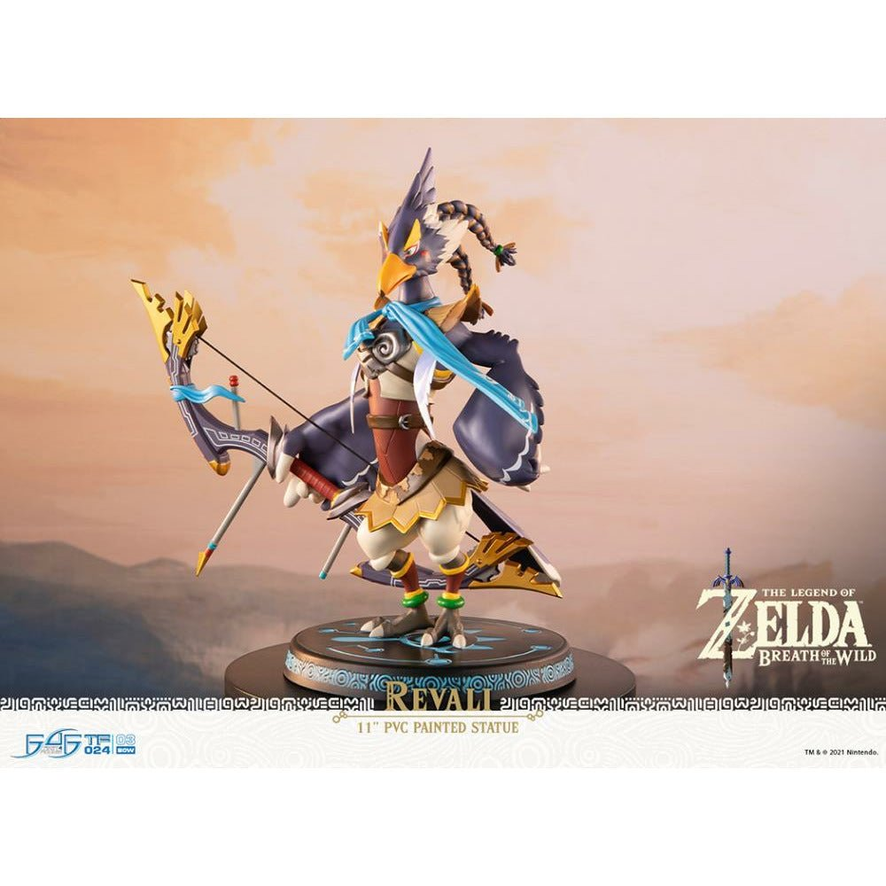 "(PRE-ORDER October 2021) First 4 Figures F4F The Legend of Zelda Breath of the Wild Revali Standard Edition 11"" PVC Statue"