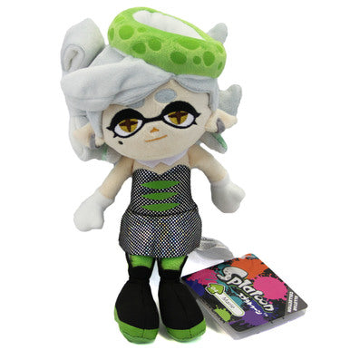 "Little Buddy Splatoon 2 Female Girl Marie Green Squid Sister 10"" Stuffed Plush"