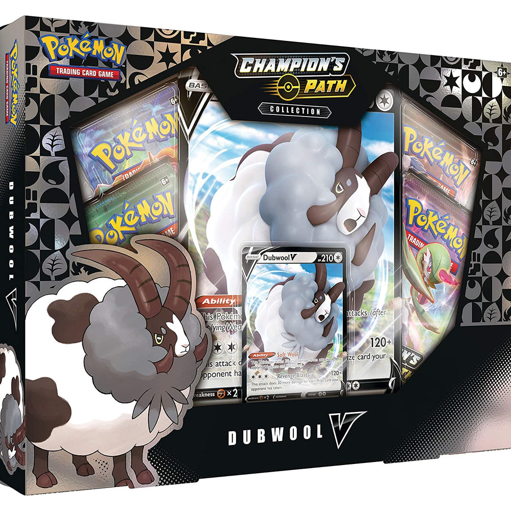 Pokémon TCG: Champion's Path Collection- Dubwool V, Multicolor