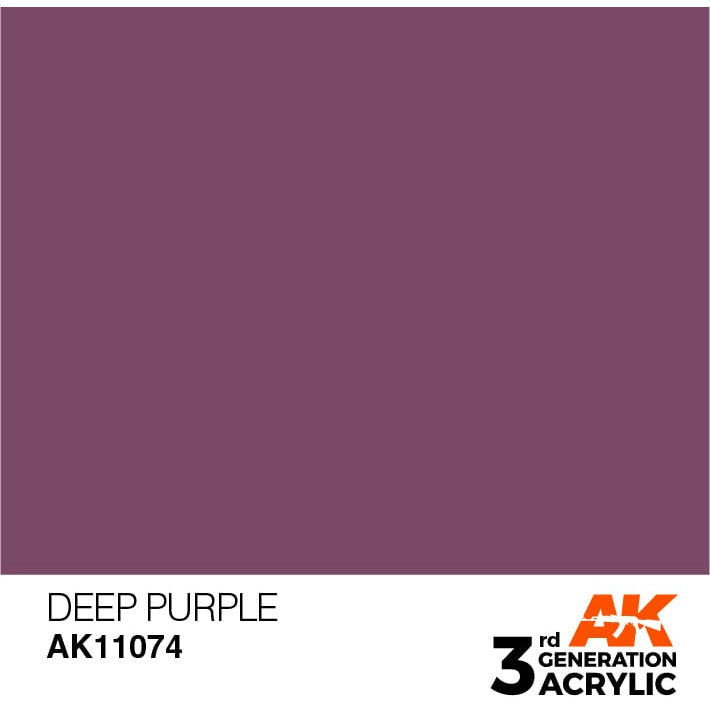 AK Interactive 3rd Gen Acrylic Intense Deep Purple 17ml