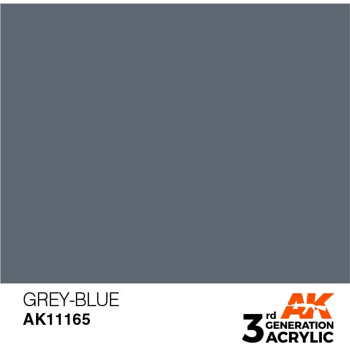 AK Interactive 3rd Gen Acrylic Grey-Blue 17ml