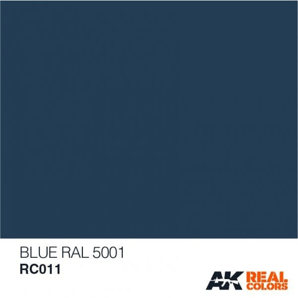 AK Interactive AFV Real Color RC010 Pure Blue 10ml Hobby Paint