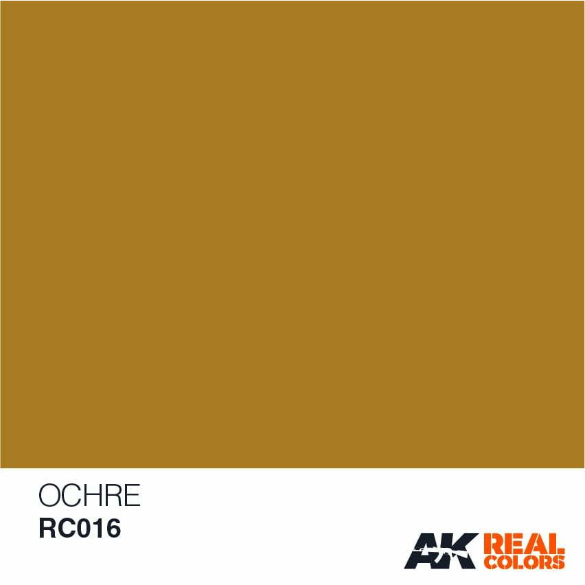 AK Interactive AFV Real Color RC016 Ochre 10ml Hobby Paint