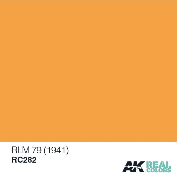 AK Interactive Real Color RLM 79 (1941) 10ML Acrylic Hobby Paint Bottle