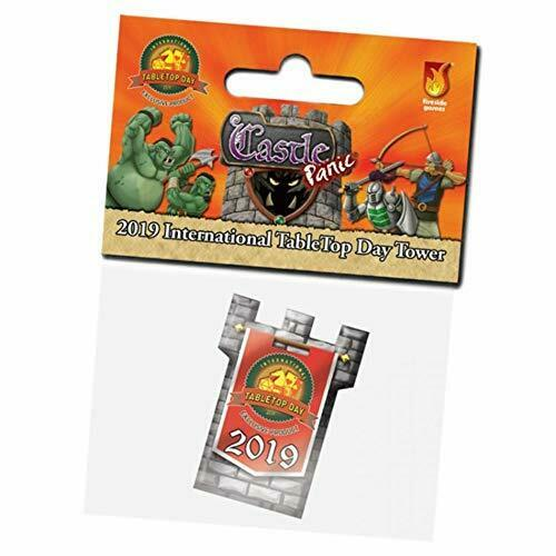 Castle Panic: 2019 International TableTop Day Tower Promo Card