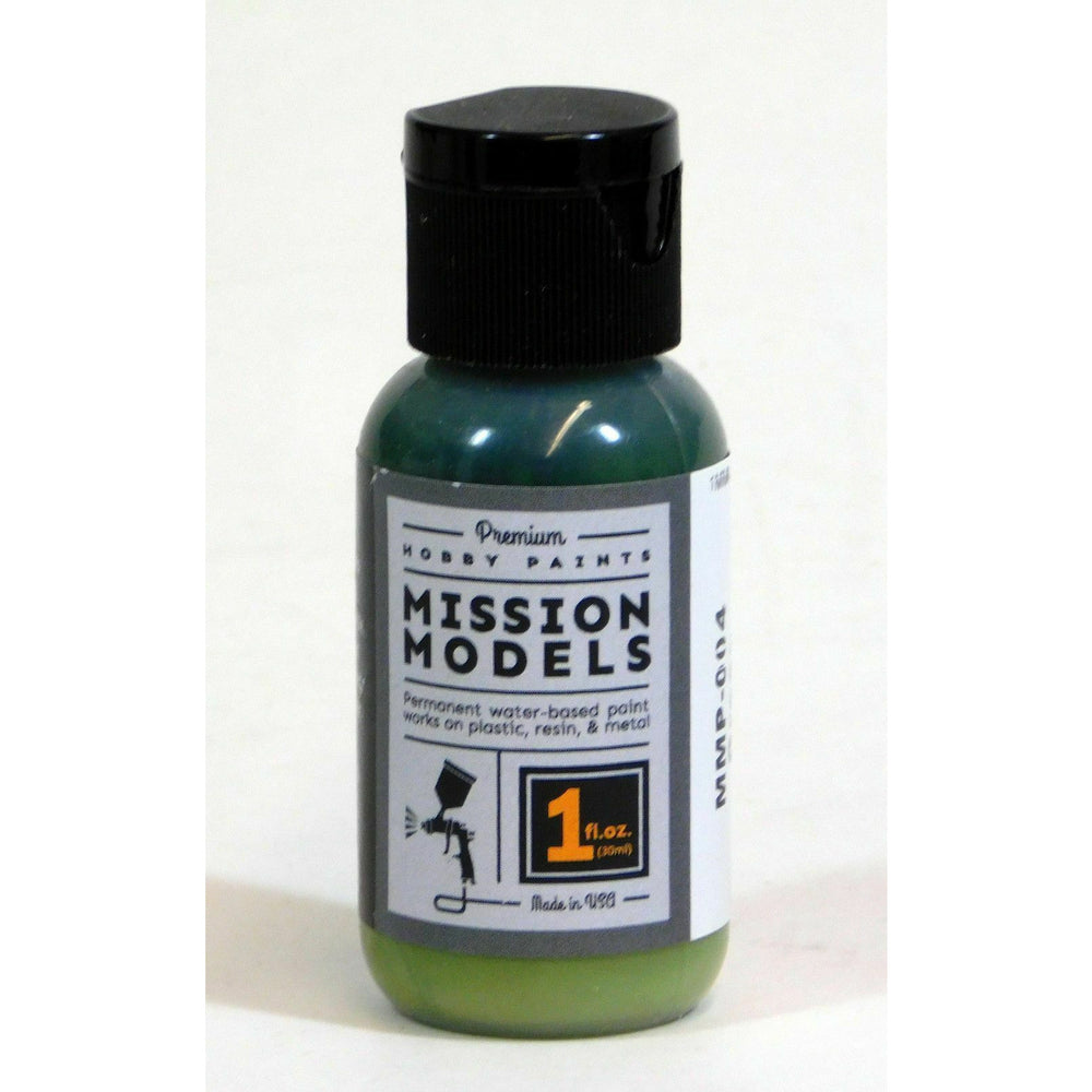 Mission Models MMP-004 Green Acrylic Paint 1 oz (30ml)