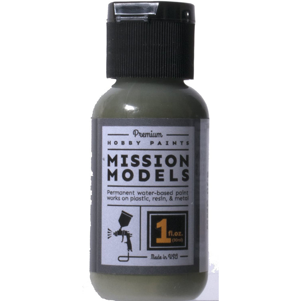 Mission Models MMP-009 Olivgrun Olive Green Acrylic Paint 1 oz (30ml)