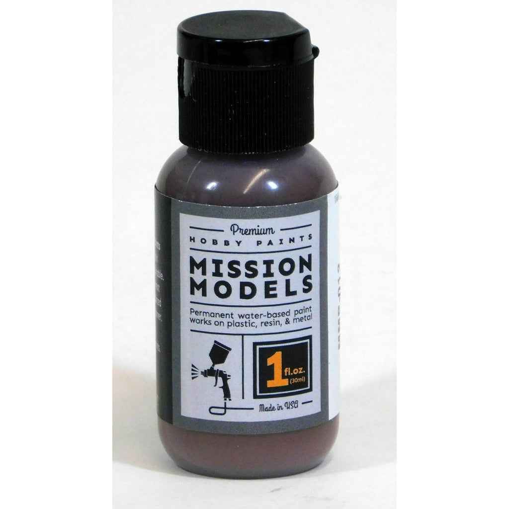 Mission Models MMP-012 Rotbraun Red Brown Acrylic Paint 1 oz (30ml)
