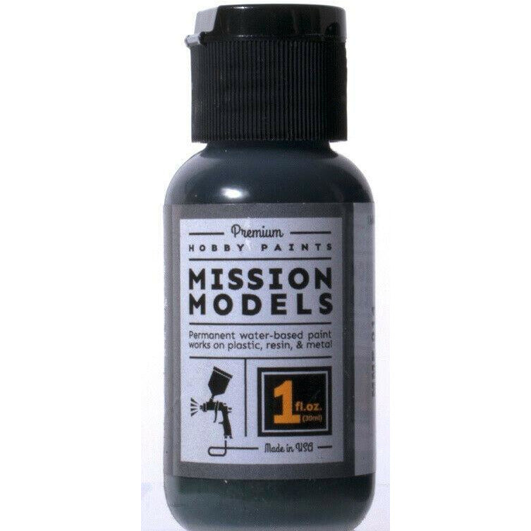 Mission Models MMP-014 Panzergrau / Black Grey Acrylic Paint 1 oz (30ml)