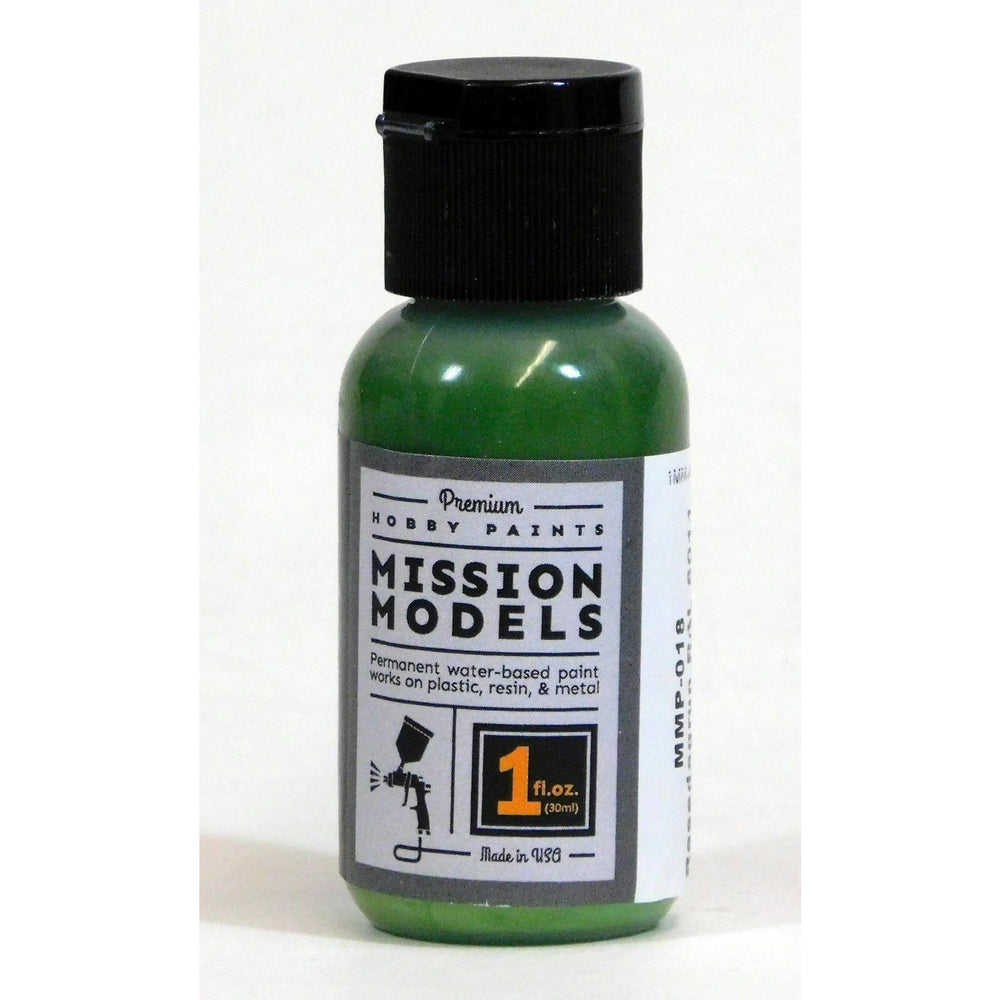 Mission Models MMP-018 Reseda Green Resedagrun Acrylic Paint 1 oz (30ml)