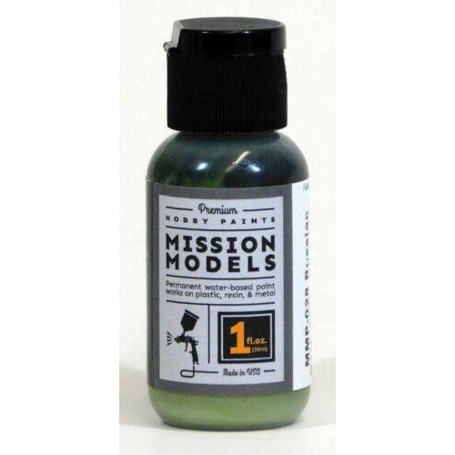 Mission Models MMP-028 Russian Dark Olive FS 34102 Acrylic Paint 1 oz (30ml)