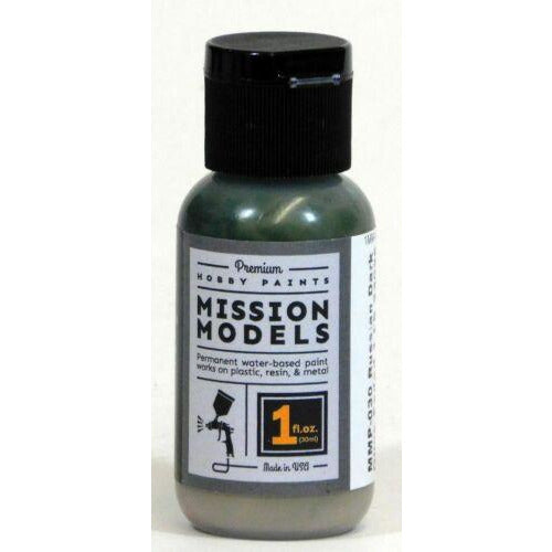 Mission Models MMP-030 Russian Dark Olive Faded Acrylic Paint 1 oz (30ml)