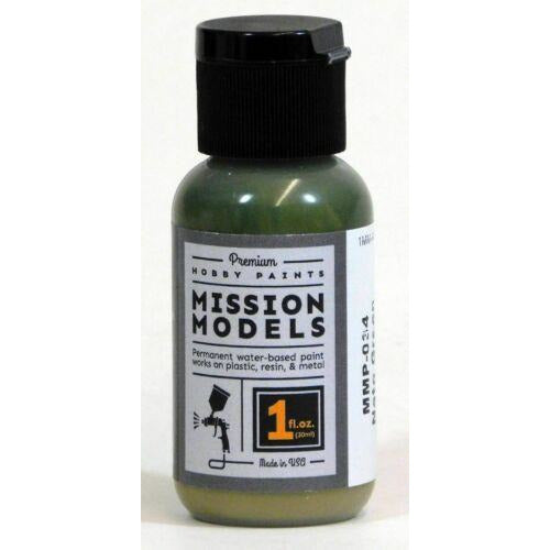 Mission Models MMP-034 NATO Green Acrylic Paint 1 oz (30ml)