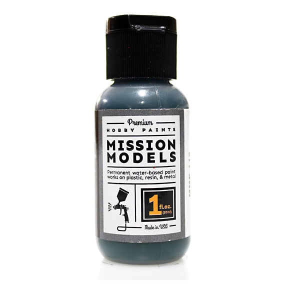 Mission Models MMP-112 D1 Deep Green IJN Japanese WWII Acrylic Paint 1 oz (30ml)