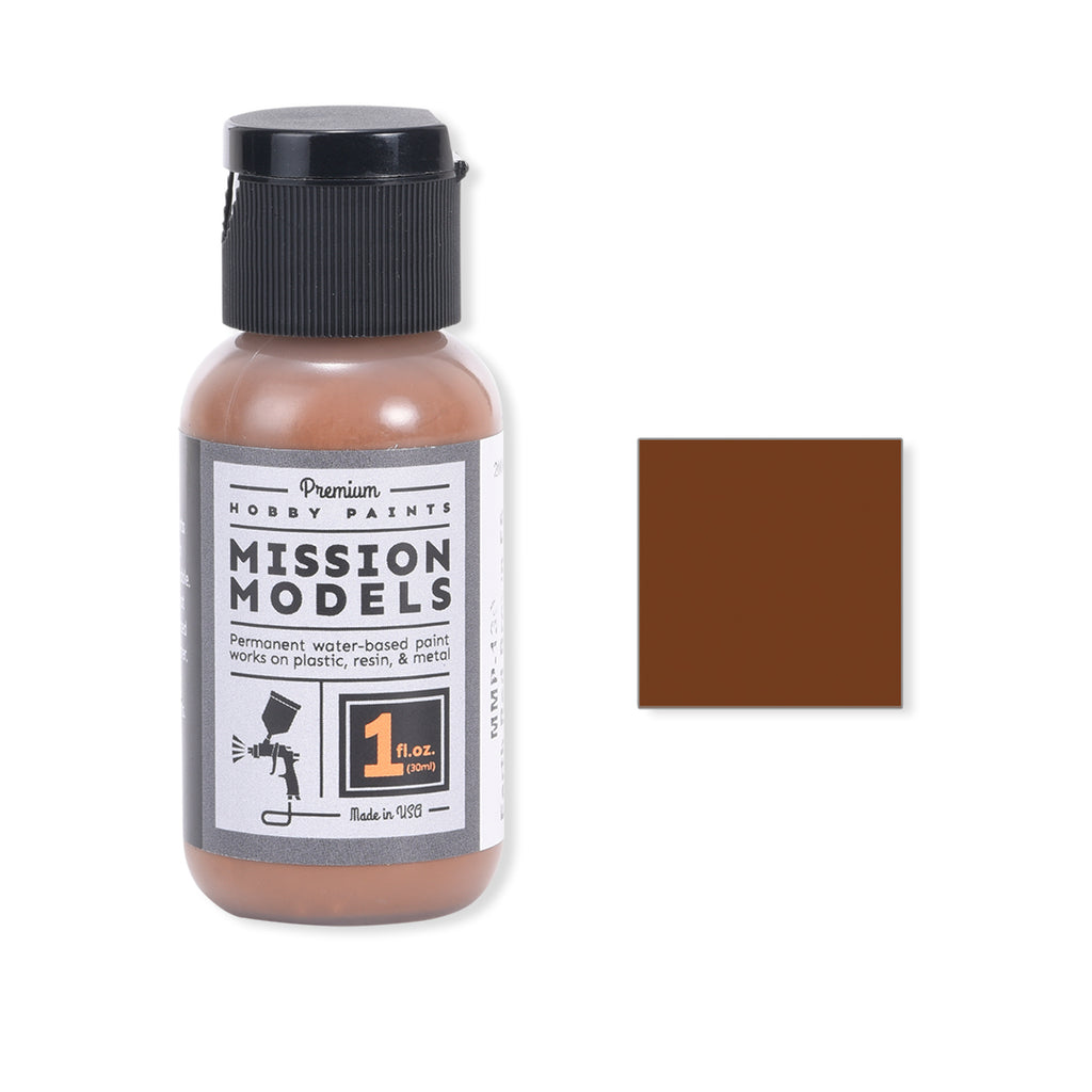 Mission Models MMP-130 Earth Red Brown FS 30117 MERDEC Acrylic Paint 1 oz (30ml)