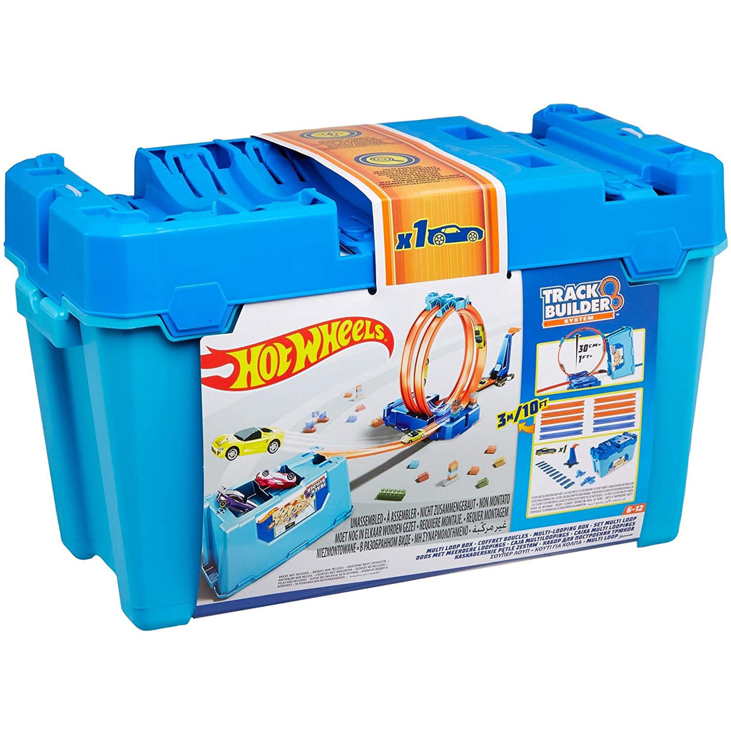Hot Wheels Track Builder MULTI LOOP BOX (Styles May Vary)