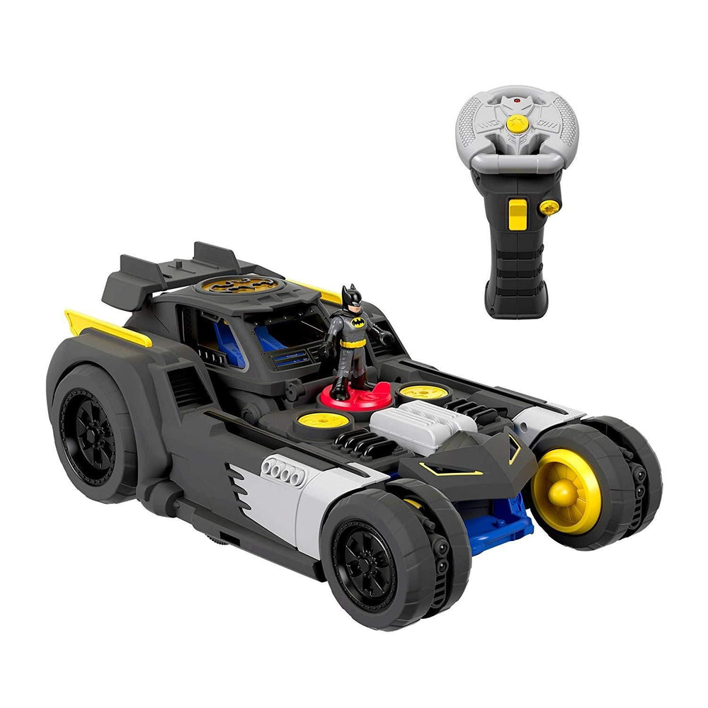 Fisher-Price Imaginext DC Super Friends, Transforming Batmobile R/C with Control