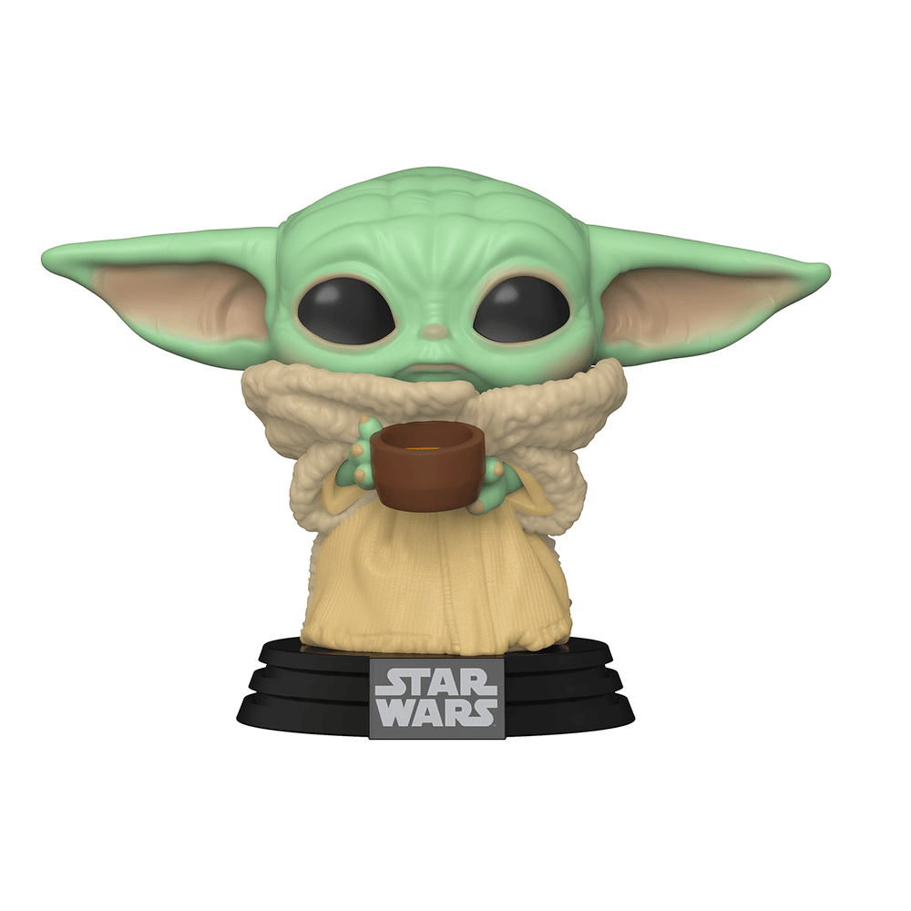 Funko POP Star Wars: Mandalorian - The Child w/cup