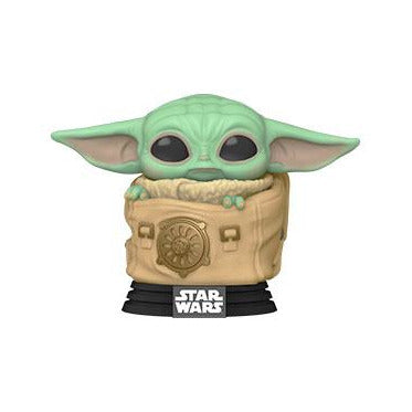 PRE-ORDER: Funko Pop! Star Wars: The Mandalorian - Child w/ Bag w/ Pop Protector (November)