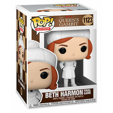 (PRE-ORDER: Expected Q3 2021) Funko Pop! Television: Queens Gambit - Beth Harmon Final Game w/ Pop Protector