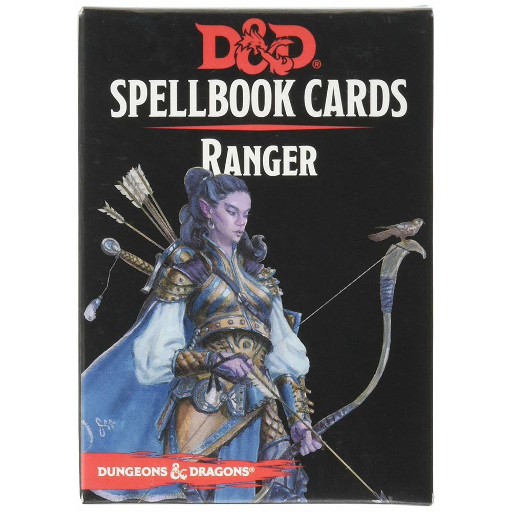 Dungeons & Dragons: Spellbook Cards Ranger Deck (2018 Edition)