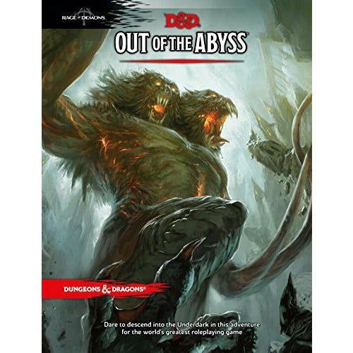 Dungeons & Dragons Out of the Abyss Campaign Book