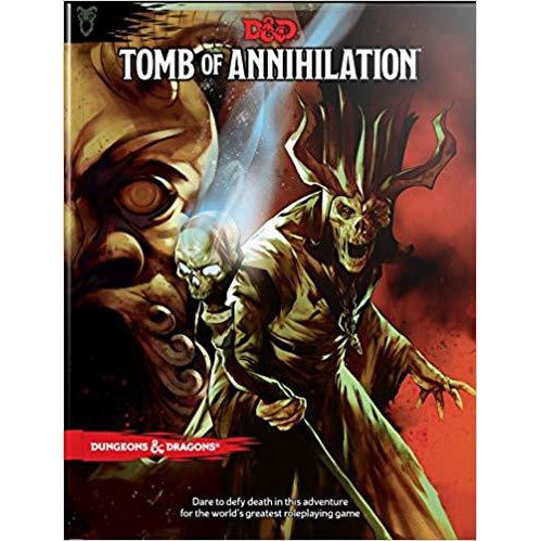 Dungeons & Dragons Tomb of Annihilation Hardcover Book