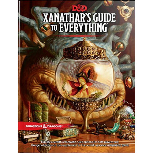 Xanathar's Guide to Everything Hard Cover Book