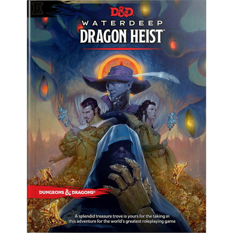 Dungeons & Dragons Waterdeep Dragon Heist Hardcover