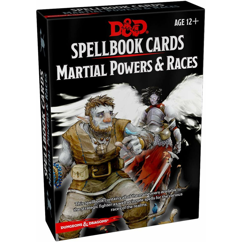 Dungeons & Dragons: Spellbook Cards: Martial Powers & Races