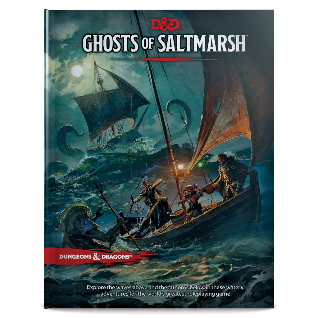 Dungeons & Dragons Ghosts of Saltmarsh D&D Adventure Hardcover Book