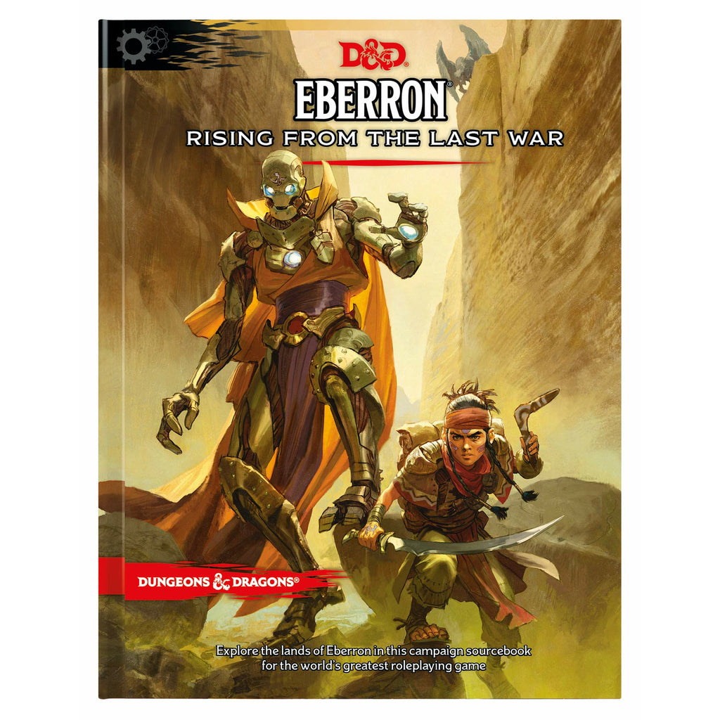 Dungeons & Dragons Eberron: Rising from the Last War Hardcover Book (D&D Adventure)